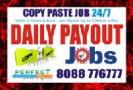 Online Bangalore Banaswadi Copy paste job | Daily