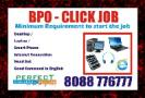 BPO job process work at home  earn Daily Rs. 500/-